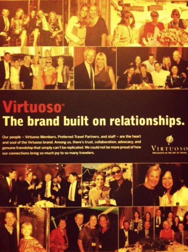 Virtuoso, the brand built on relationships.